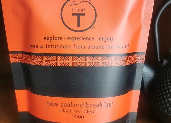 New Zealand Breakfast T Leaf T 100grams Loose