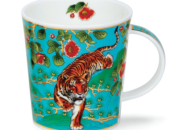 Dunoon Mug Lomond 0.32L Ashaki Turquoise Collection 22 carat gold