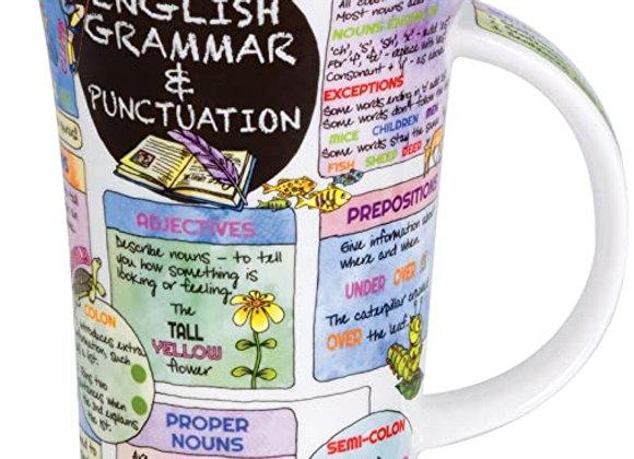 Dunoon Mug Glencoe ' English Grammar + Punctuation '