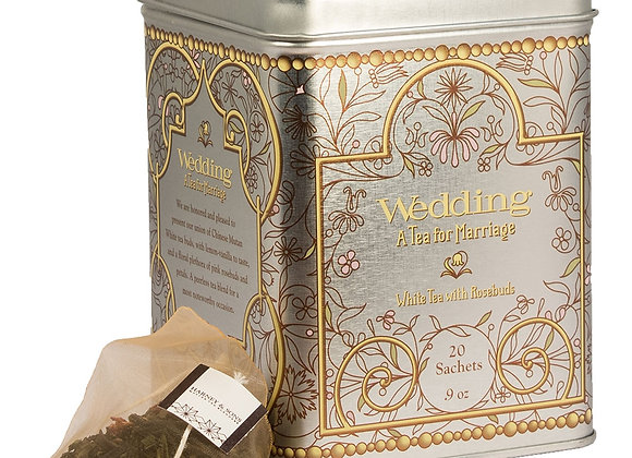 Harney & Sons Wedding White Tea 20 Bags in Tin