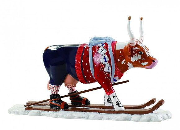 Cow Parade - Ski Cow Small Size