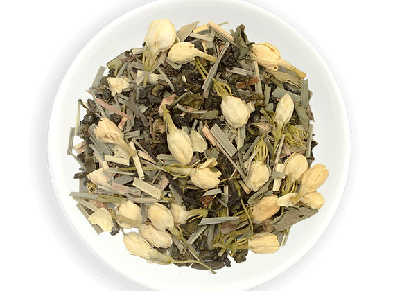 Zealong Green Heart- Lemongrass, Jasmine & Kawakawa 15 teabags in Tin