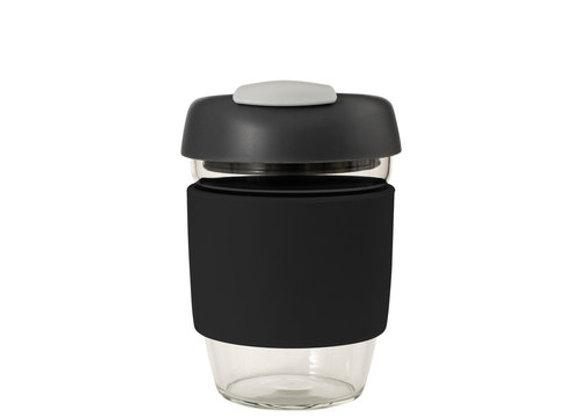 Avanti Glass GoCup 355ml Black/Char/Grey