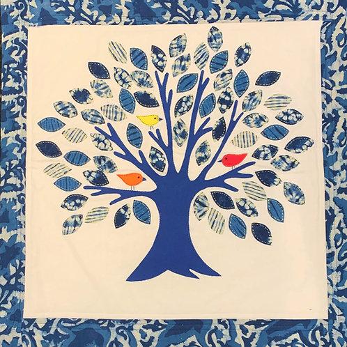 Indigo Tree Quilt Kit