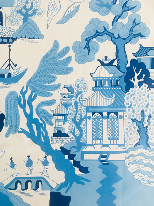Willow Pattern Tea Towel