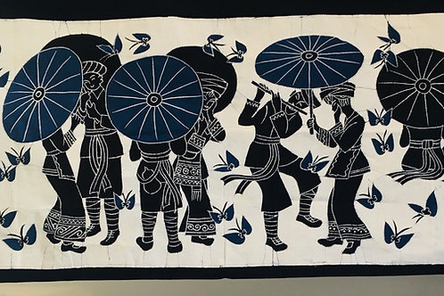 Parasol Batik Wallhanging