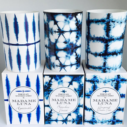 Scented Shibori Candles