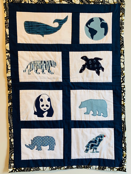 Endangered Species Wall hanging kit