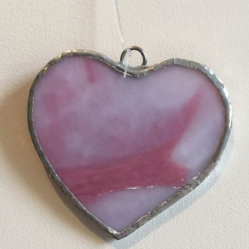 Stained Glass Love Hearts