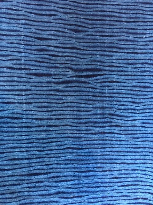 Blue bark - Shibori Fabric