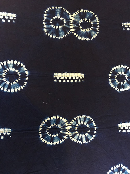 Owl Eyes- Shibori Fabric