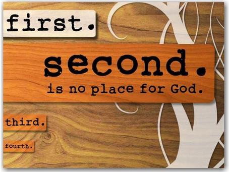 God First!
