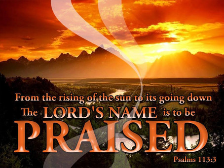 It's Time To Praise the Lord