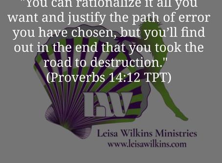 FAITH OR FEAR - YOU CHOOSE!