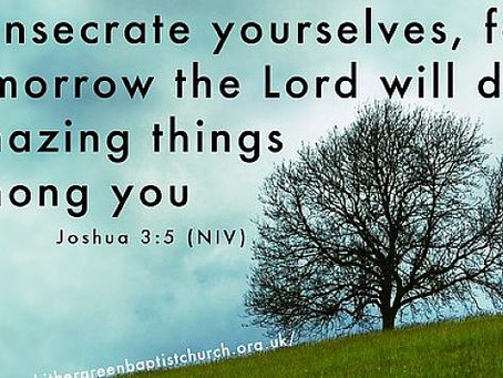 Consecrate Yourself