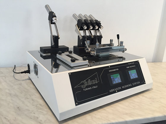 System Veslic - Crockmeter Rub Fastness Tester Veslic type + Crockmeter