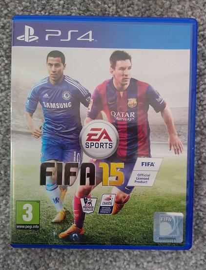FIFA 15 PLAYSTATION 4 GAME