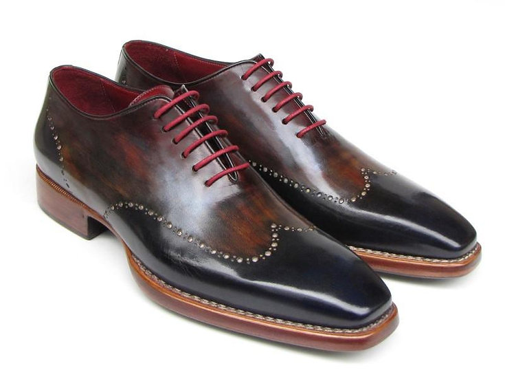 Paul Parkman Men's Wingtip Oxford Goodyear Welted Shoes