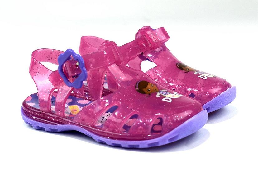 Doc McStuffins Pink Jelly Sandal
