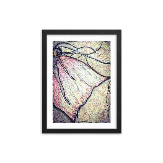 Fairy Queen Wooden Framed Print
