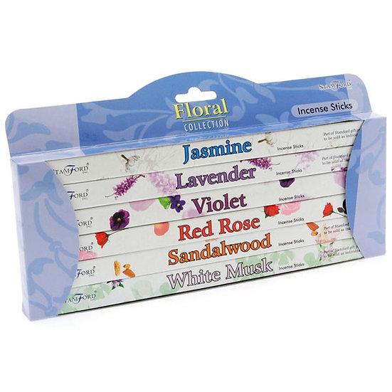 Stamford Incense Sticks Gift Pack - Floral