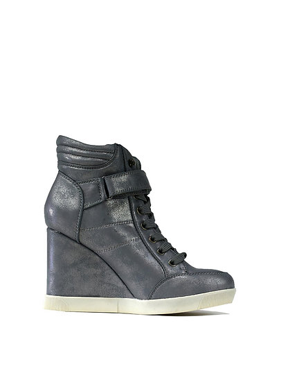 Pewter Ladies Boots