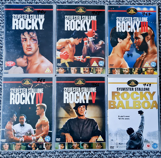 Rocky x 6 movie DVD Collection