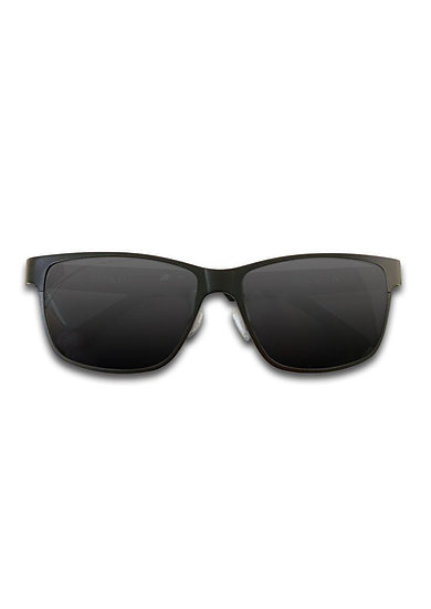 Titanium Wayfarer Sunglasses - TITAN - Black