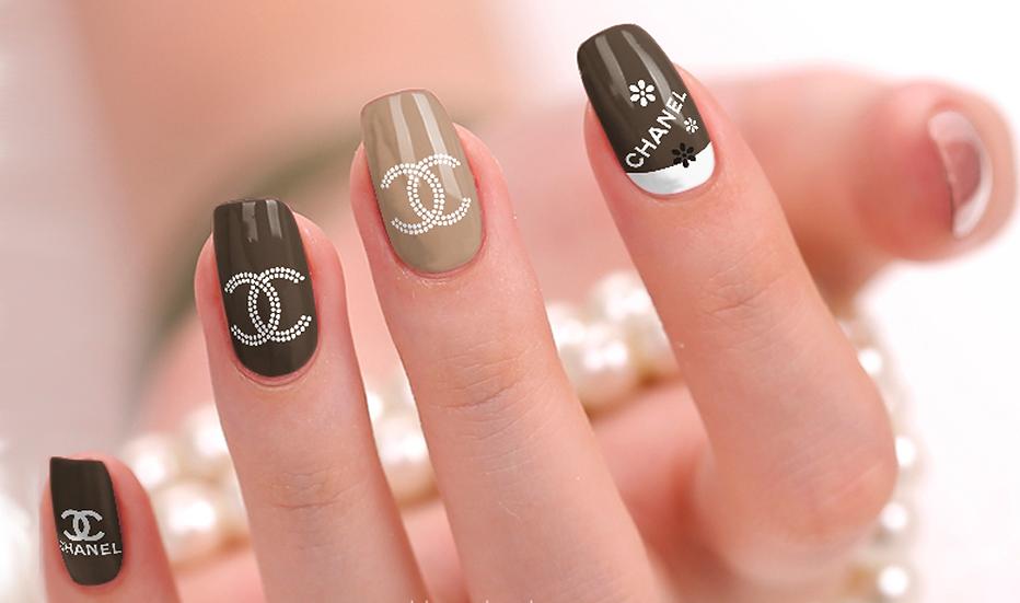 Chanel 1 Nail Wraps
