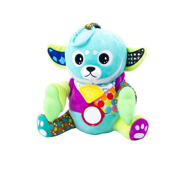 Teether Plush Sensory Toy- Glow in the Dark
