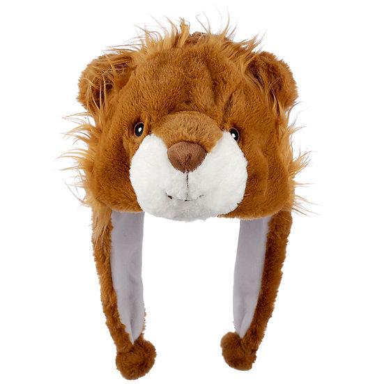 Fun Plush Lion Hat