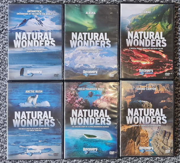 Natural Wonders 6x DVD Collection