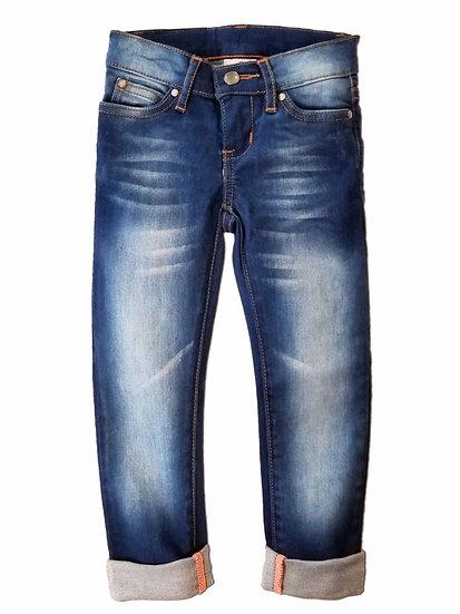 Bright Indigo Skinny Jeans