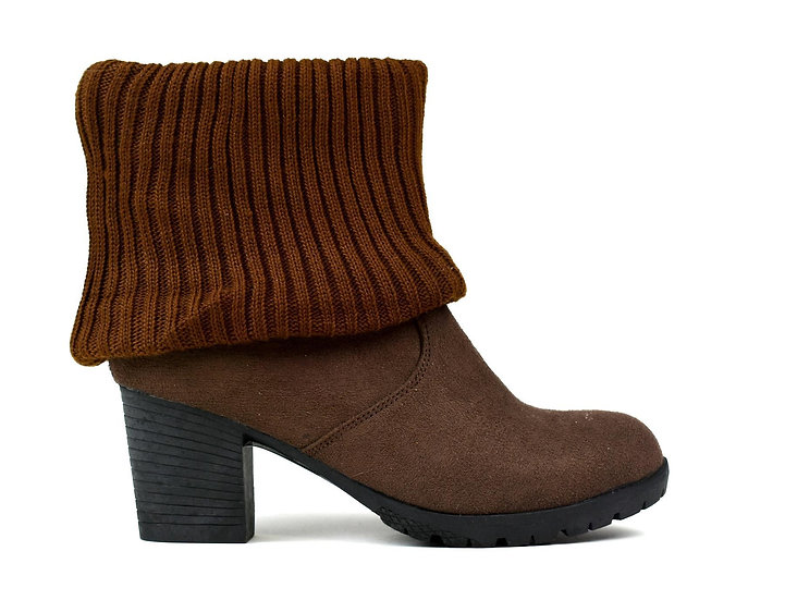 Women's Wool Ankle Boot Brown