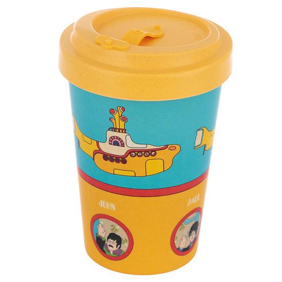 'The Beatles Yellow Submarine' Screw Top Travel Mug