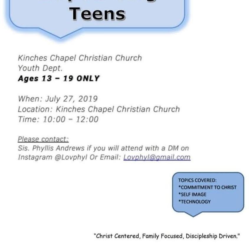 Teen Talk: Empowering Teens