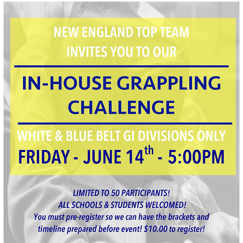 In-House Grappling Challenge