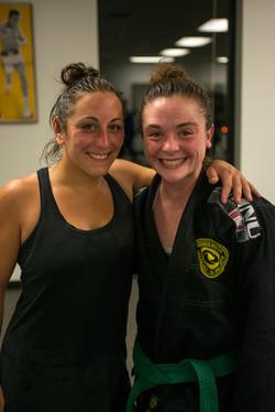 Instructors Kellsie & Angela