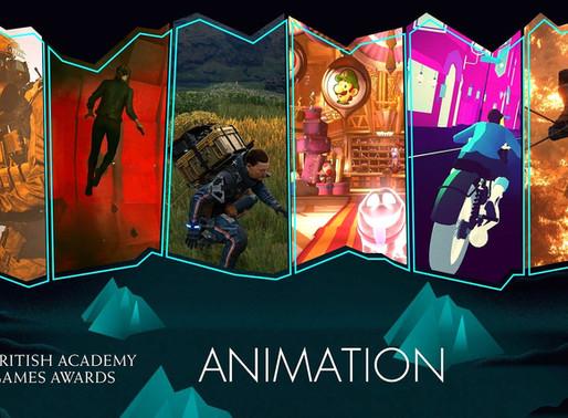 BAFTA Game  Awards 2020 Animation Nominees