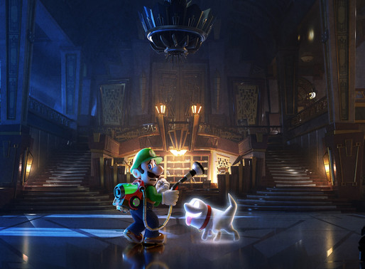 Luigui's Mansion 3 Wins Best Game Animation at BAFTA