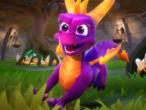 Spyro Reignited Animation Process