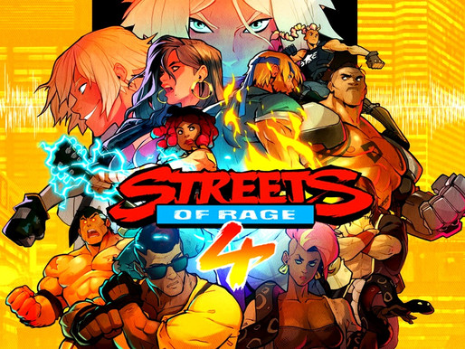 Streets of Rage 4 Animation Redesign