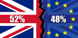 Infograph on the UK's EU Referendum vote