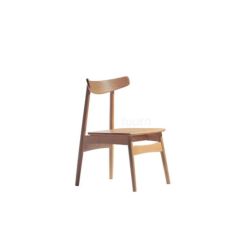 Wooden Curve Chair