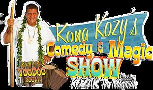 Kona Kozy's Comedy & Magic Show
