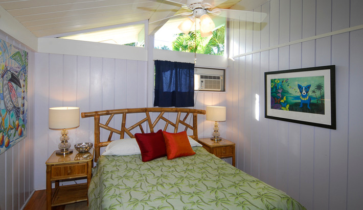 Second bedroom with AC