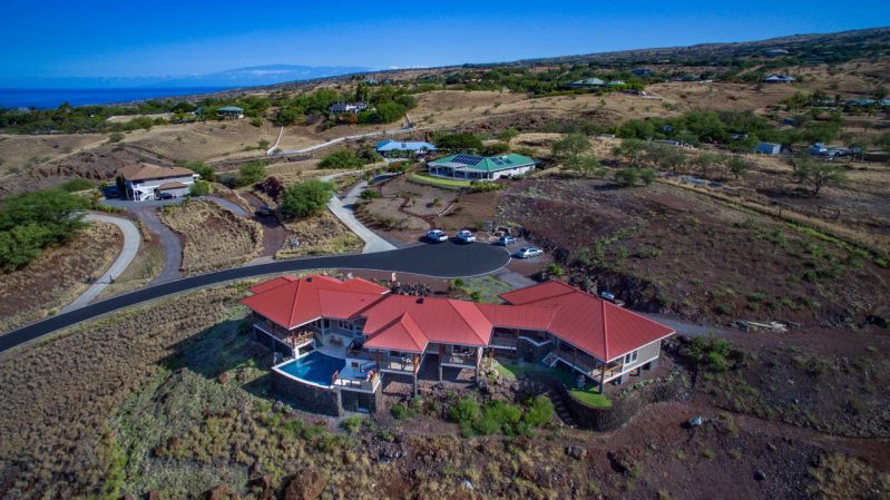 Expansive ocean view home. Ohana unit is attached to the garage. The units are private from each other but please review photos and layout to confirm this will work for you.