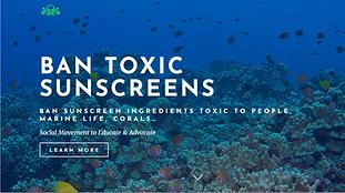 Ban Toxic Sunscreens