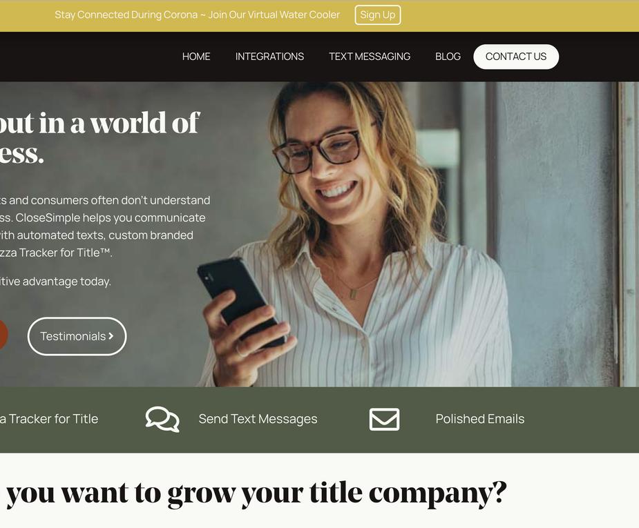 CloseSimple Web Design and Development