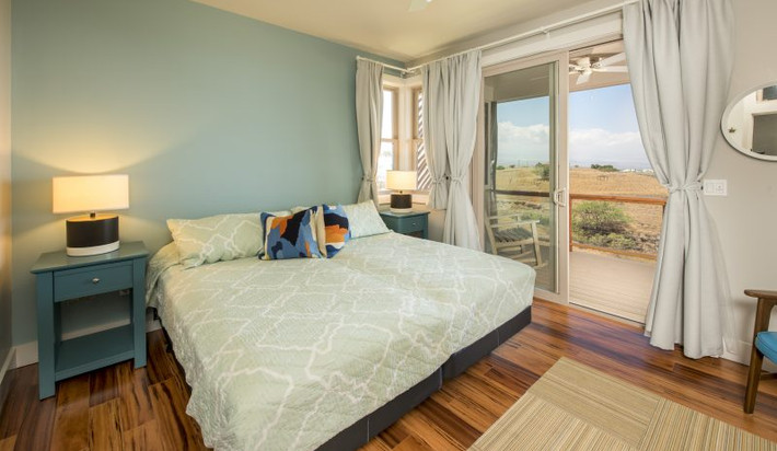 Second bedroom can be converted into two twin beds or a King